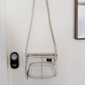 Tignanello White Crossbody